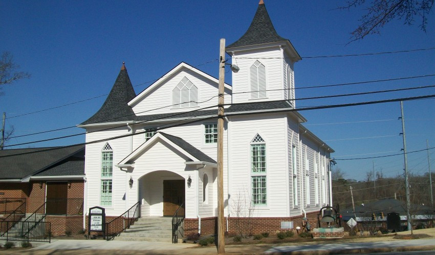 Oconee Street United Methodist Church Historic Rebuild and Restoration